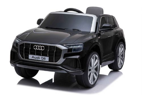 12V Licensed Black Audi Q8 Battery Ride On Car